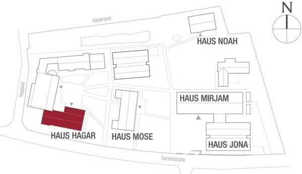 Haus Hagar Lage