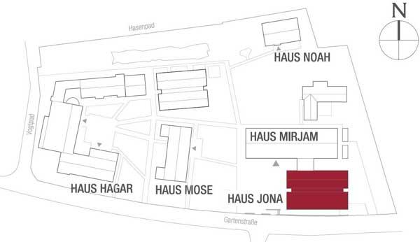 Häuserplan Haus Jona
