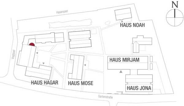 Meedland Häuserplan Kapelle