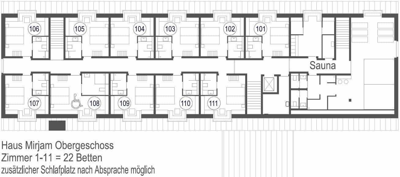 Haus Mirjam Plan