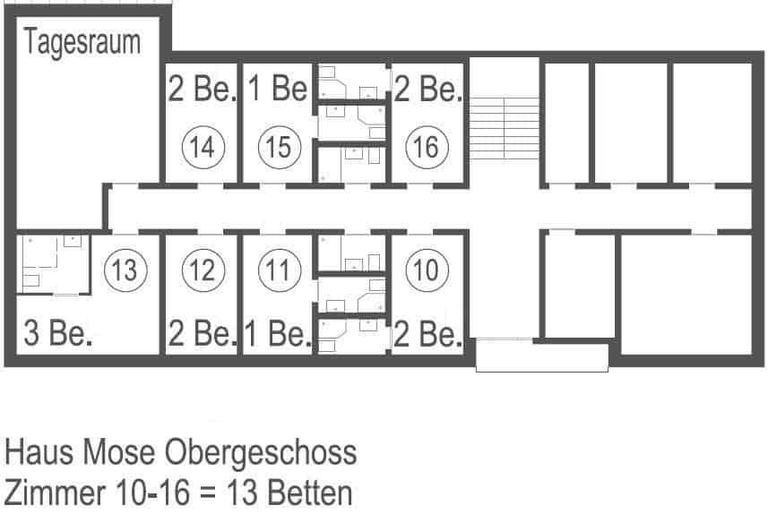 Plan Haus Mose
