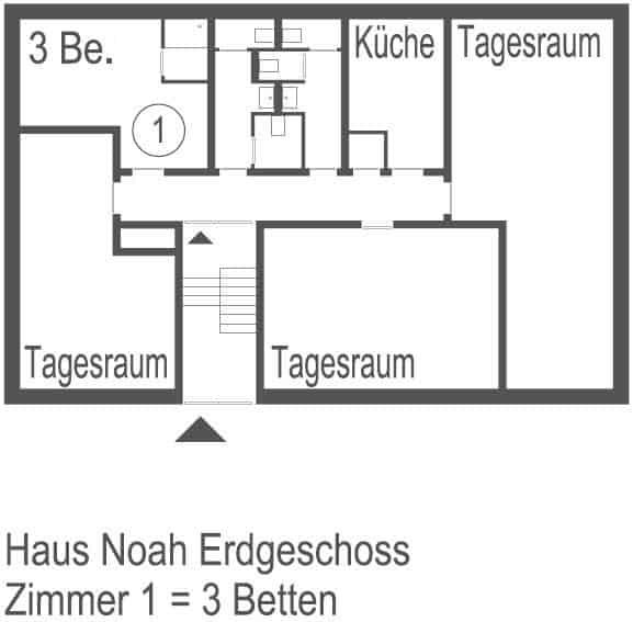 Haus Noah Plan EG